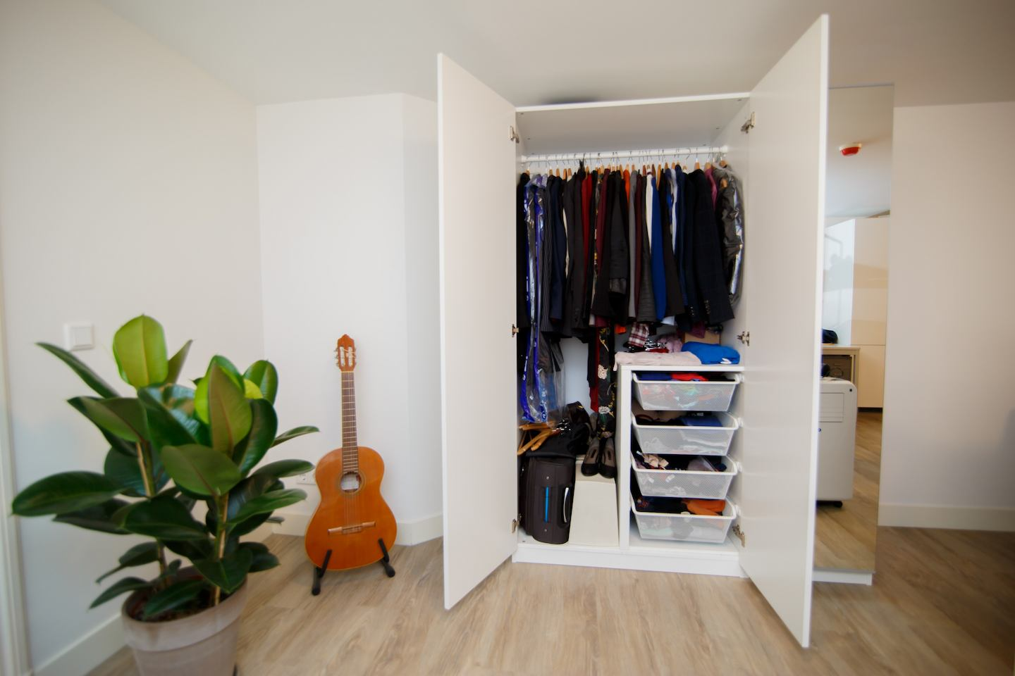 Optimise the storage potential of your flat